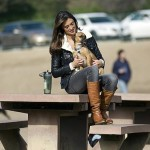 Model Katie Cleary's Heart For Animal Rescue