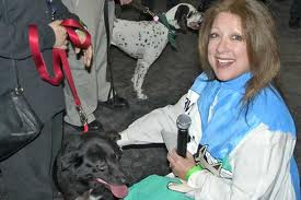 Comedian Elayne Boosler is the founder of Tails of Joy, an animal rescue group. Photo courtesy animalradio.com