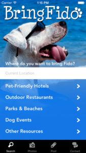 Dog Travel Directory App