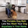 Portable Dog Bath Lets You Wash Your Dog Anywhere In Your Home